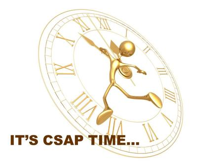 IT'S CSAP TIME…. 3 rd Grade READING WRITING MATH 80 62 74 67 56 72 54 69 73.
