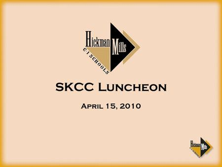 SKCC Luncheon April 15, 2010. District Financial Summary.