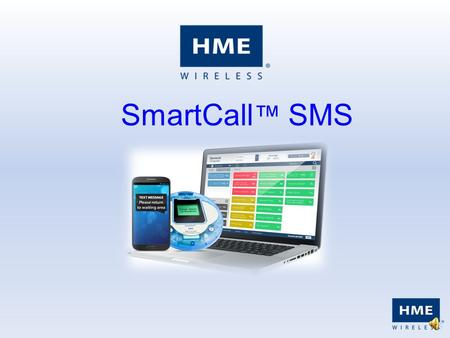 SmartCall ™ SMS Adding a New Record Complete the necessary boxes and click OK. Options for Pager or Mobile Phone, as well as additional notes.