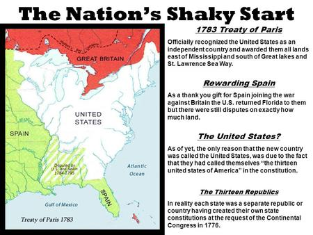 an analysis of the creation of the constitution of the united states as a shaky document Who was so instrumental in the creation of the constitution in the united states as a result century of the united states under the constitution.