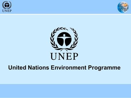 United Nations Environment Programme. UNEP's Work to Advance the Preparation and Implementation of National Adaptation Programmes of Action 3 September.
