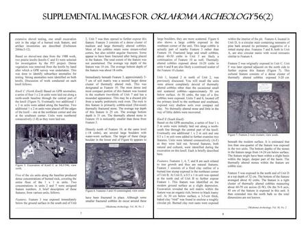 Supplemental images for Oklahoma archeology 56(2).