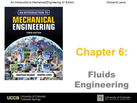 Chapter 6: Fluids Engineering