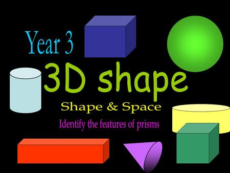 lessonactivityworksheet games Shape Lab Cube 6 square faces 12 edges 8 corners.
