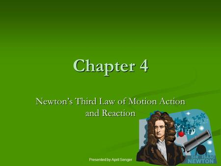 Newton's Third Law of Motion Action and Reaction
