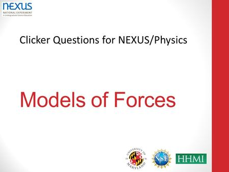 Models of Forces.