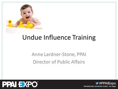 Undue Influence Training