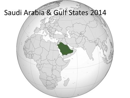 Saudi Arabia & Gulf States 2014. he Israel offers to help Arab nations over Iraq crisis Israel offered to help moderate Arab nations threatened by a lightning.