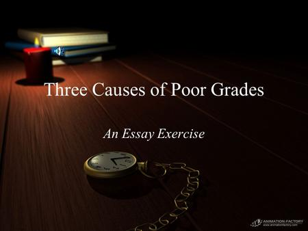 causes of failing grades Causes of student's failure or getting less marks in the exam it is aim of every  student to qualify his examination getting highest marks every student strives a.