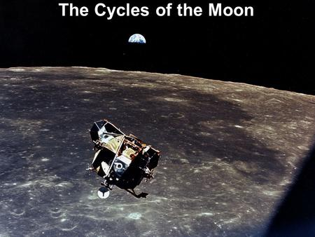 The Cycles of the Moon.