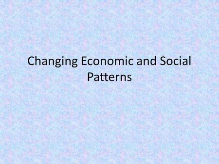 Changing Economic and Social Patterns. Key Questions A. What economic goals have Middle Eastern nations pursued? 1.Reduce European economic influence.
