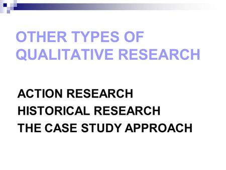 case study approach to educational research