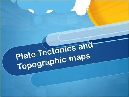 Plate Tectonics and Topographic maps. How do the plates move? Convection currents, in the plastic like layer of the mantle of the earth, constantly churn.