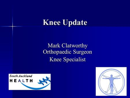 Mark Clatworthy Orthopaedic Surgeon Knee Specialist