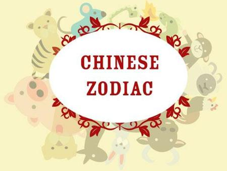 Chinese Zodiac. The 12 Animals of the Chinese Zodiac.