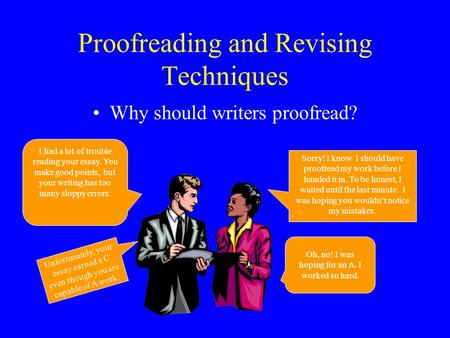 Revising and editing expository essay examples