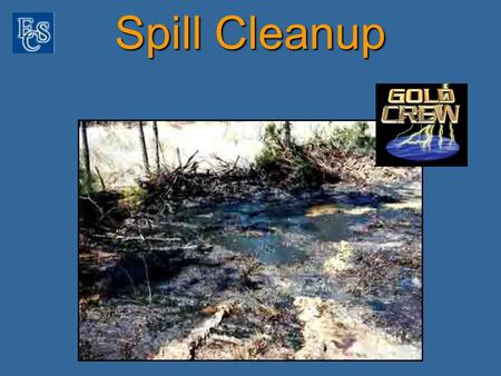 Spill Cleanup. Surface Washing Gold Crew ® concentrate is mixed with water to make a 5% solution. Using a low volume, high pressure washer the Gold Crew.