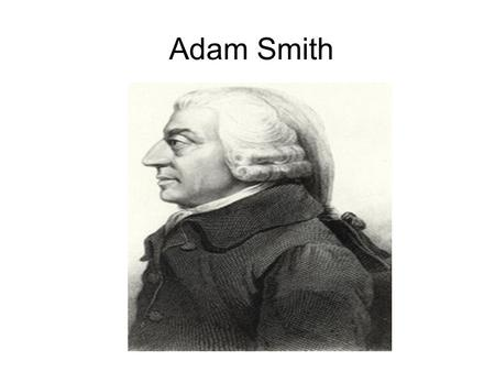 Adam Smith. Let it be considered too, that the present inquiry is not concerning a matter of right, if I may say so, but concerning a matter of fact.