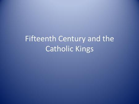 Fifteenth Century and the Catholic Kings. Pogroms of 1391 Anti-Jewish violence Ferrán Martínez Conversos.