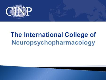 The International College of Neuropsychopharmacology.