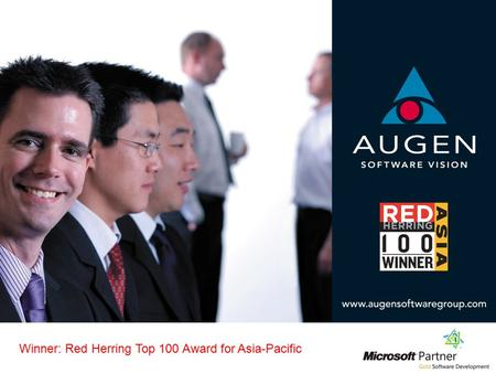 Winner: Red Herring Top 100 Award for Asia-Pacific.