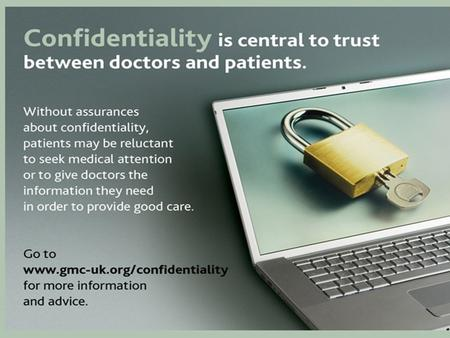 Confidentiality new guidance from the GMC. Statutory power to advise The Medical Act 1983 gives the GMC power to provide, in such manner as the Council.