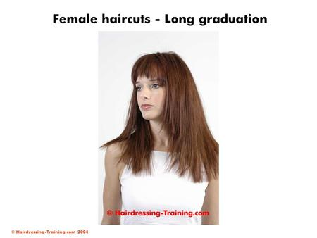 Female haircuts - Long graduation