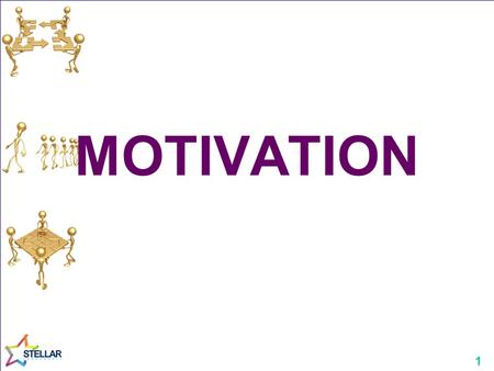1 MOTIVATION. 2 Motivation A psychological concept concerned with strength and direction of work-related behaviours to influence the quality and quantity.