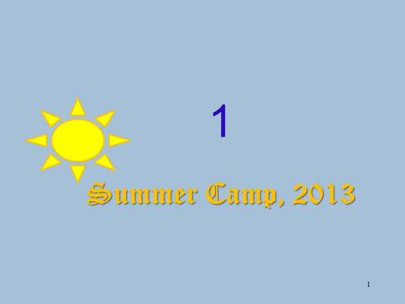 1 1 Summer Camp, 2013. 2 Constructive Learning & Graphic Organizers (0332-3799529)