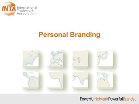 Personal Branding. Social Networking Paul W. Reidl, Esq. TMGuy –www.reidllaw.com On February 1, 2009, at the height of the recession,