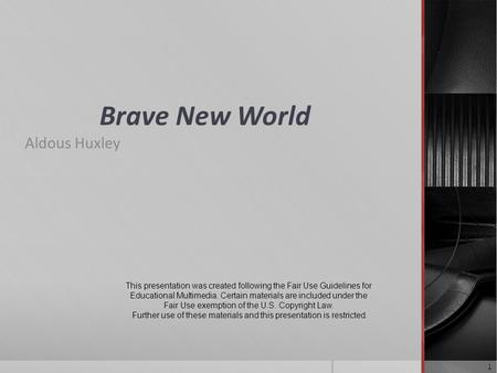 an analysis of a futuristic caste system in brave new world by aldoux huxley An analysis of the caste system like huxley's society as a whole aldous huxley's brave new world is a story about a futuristic.