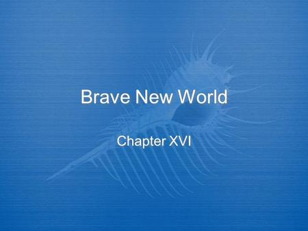 story summary of brave new world It is a story of a false utopiawhere humans are living in a controlled  aldous  huxley, the author of brave new world, was pained by a culture.