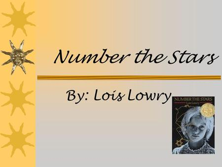 Number the Stars By: Lois Lowry. Place and Time  Annemarie and Ellen first lived in a cozy apartment in Denmark then went to Annemarie's Uncle Henrik's.