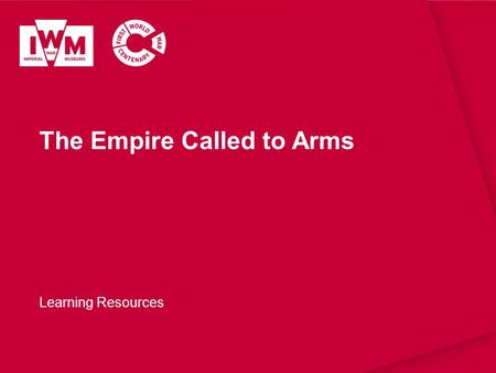 The Empire Called to Arms Learning Resources. The images in this resource can be freely used for non-commercial use in your classroom subject to the terms.