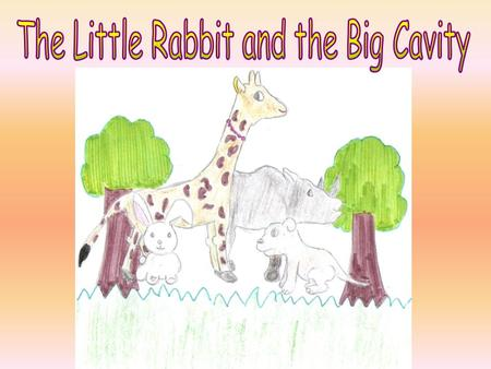 One upon a time, there lived a Little Rabbit, a Giraffe, a Brave Dog, a Rhinocero and some animals in the woods.