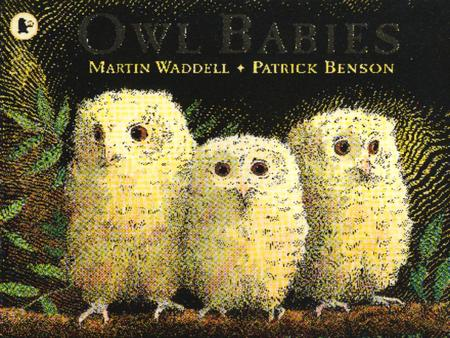Once there were three baby owls: Sarah and Percy and Bill. They lived in a hole in the trunk of a tree with their Owl Mother. The hole had twigs and leaves.