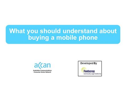 What you should understand about buying a mobile phone Developed By by.