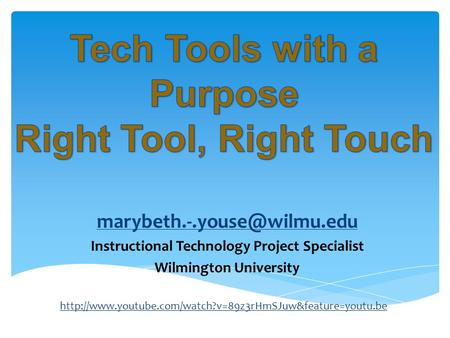 Instructional Technology Project Specialist Wilmington University