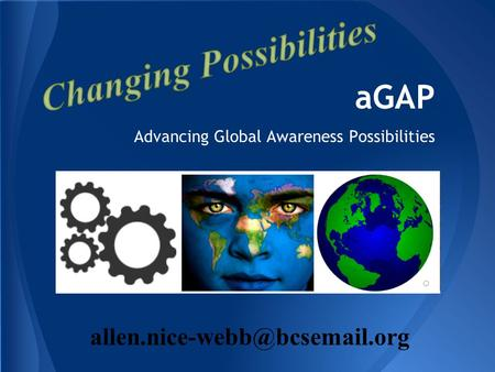 AGAP Advancing Global Awareness Possibilities