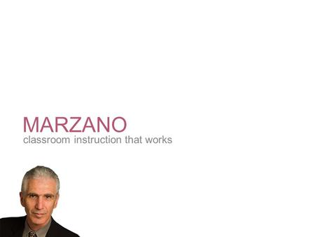 MARZANO classroom instruction that works. student learning influences – Socioeconomic – Aptitude – Home – 10% school Individual teacher has the most.