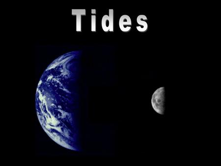 1.Gravitational pull of the moon and sun 2.Centripetal force of the rotating Earth Tides are generated by: