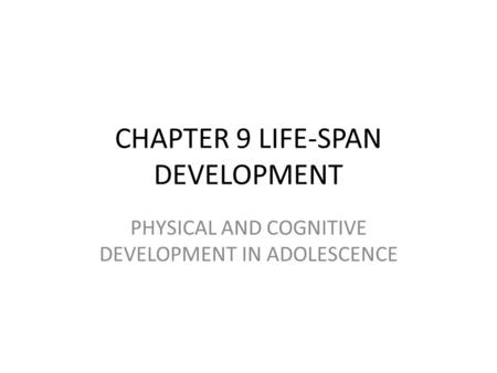 lifespan development and personality including physical cognitive social moral and personality devel This paper will focus on the physical, cognitive, social, moral social, moral, and personality development in lifespan essay lifespan development from.