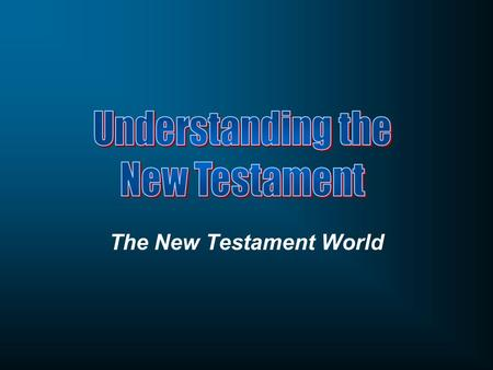 The New Testament World. How has the New Testament been used by politicians for political gain?