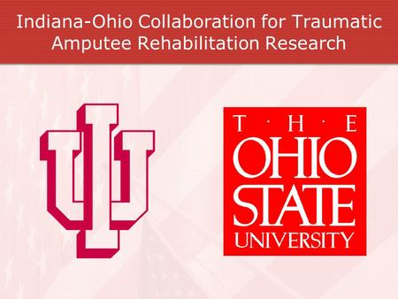 Indiana-Ohio Collaboration for Traumatic Amputee Rehabilitation Research.