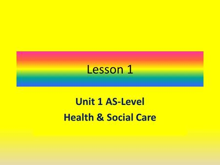 child care level 2 unit 1 Unit 001 introduction to communication in health, social care or children's and   appendix 1 relationships to other qualifications 106  the level 2 certificate  is a generic qualification that will be relevant across the children and young.