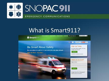 What is Smart911?.