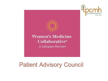 Title Patient Patient Advisory CouncilAdvisory Council Patient Advisory Council.