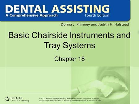 Basic Chairside Instruments and Tray Systems