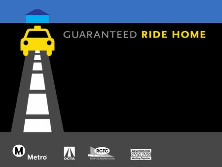 What is the Regional Guaranteed Ride Home (GRH ) Program? Multi-county sponsored program Reimburses cost of emergency rides for ridesharing employees.