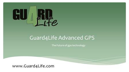 Guard4Life Advanced GPS